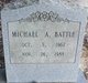 Profile photo:  Michael A. Battle