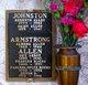 Almeda Elizabeth <I>Allen</I> Armstrong