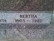 Bertha Amelia <I>Abraham</I> Paulsen