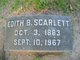Profile photo:  Edith <I>Burton</I> Scarlett