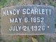 "Profile photo:  Nancy ""Annie"" <I>Bell</I> Scarlett"