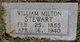 William Milton Stewart