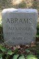 Profile photo:  Alexander Abrams