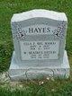 Profile photo:  Ella Florence <I>Williams</I> Hayes