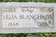 Lelia Jane <I>Sisson</I> Blanchard