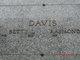 Betty L. <I>Blaker</I> Davis