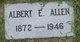 Profile photo:  Albert E Allen