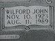 Wilford John Barker