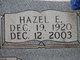 Hazel E Allen