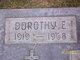 Profile photo:  Dorothy Evelyn <I>McLaughlin</I> Stout