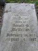 Profile photo:  Alice <I>Moore</I> McLellan