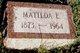 Matilda E Allert