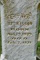 Profile photo:  Ester Attkisson