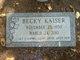 """Profile photo:  Rebecca Ann """"Becky"""" <I>Kerkvliet</I> Kaiser"""