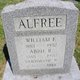 Profile photo:  William Frank Alfree