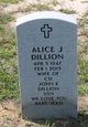 Profile photo:  Alice J Dillion