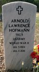 Profile photo:  Arnold Lawrence Hofmann