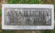 Profile photo:  Anna <I>Hughes</I> Lickey