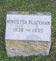 Henrietta <I>Tibbitts</I> Blackman