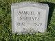 Samuel Wesley Shrieves