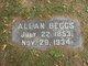Profile photo:  Allan Beggs