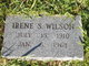 Irene S <I>Shomo</I> Wilson