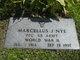 "Profile photo:  Marcellus J ""Marty"" Nye"