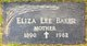 Eliza Lee <I>House</I> Baker