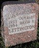 David E. Lettington