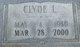 Profile photo:  Clyde Leslie Hallock, Jr
