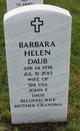 Barbara Helen <I>Wysocki</I> Daub