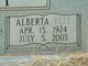 Profile photo:  Alberta <I>Bell</I> Guffey