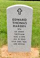 Profile photo:  Edward Thomas Hardin