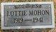 Lottie Irene Mohon