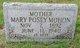 Mary <I>Posey</I> Mohon