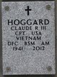 Profile photo:  Claude Richard Hoggard, III
