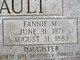 Fannie M Shinault