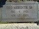 Fred Meredith, Sr