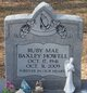 Ruby Mae <I>Baxley</I> Howell