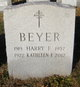 Harry F Beyer