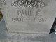 Paul E. Sapp