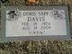 Doris <I>Sapp</I> Davis