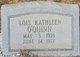 Lois Kathleen O'Quinn
