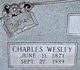 """Profile photo:  Charles Wesley """"Charlie"""" Adams"""