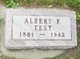 Profile photo:  Albert F. Test