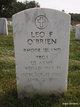 Leo F O'Brien