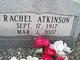 Profile photo:  Rachel Atkinson