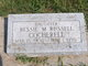 Profile photo:  Bessie M. <I>Russell</I> Cocherell