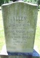 Abigail Ann <I>Maxson</I> Allen