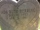 Profile photo:  Ada Ruth Herring